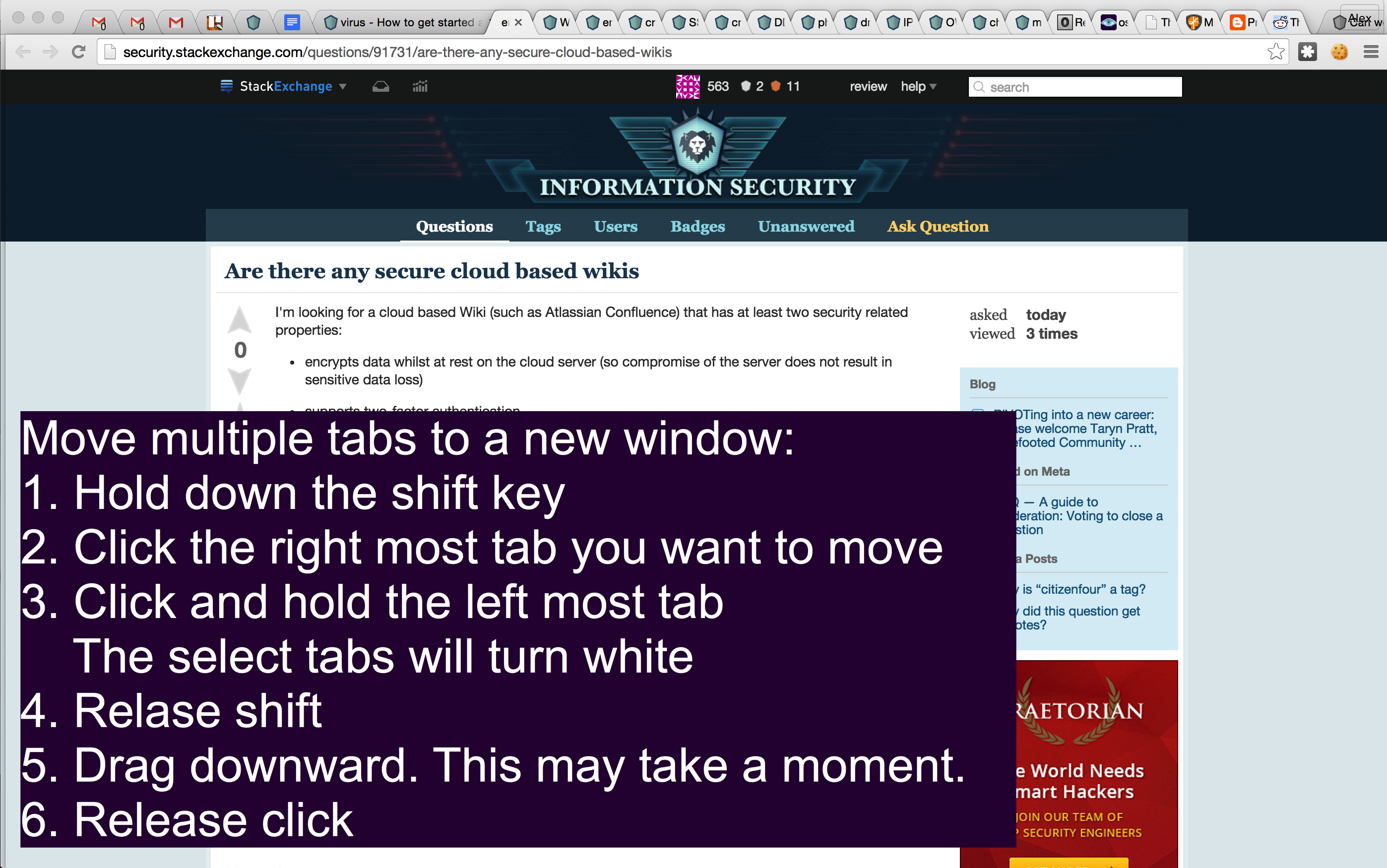 Click to see larger: Move tabs to a new window